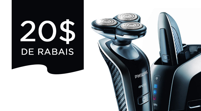 coupon rabais Philips Men's Shaver