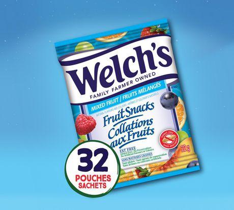 coupon rabais Rouleaux Aux Fruits De Welch's