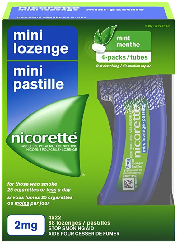 coupon rabais Nicorette