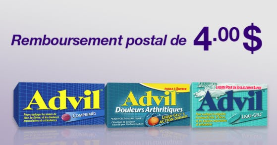 coupon rabais Advil