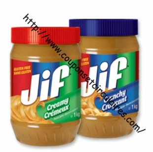 coupon rabais Jif