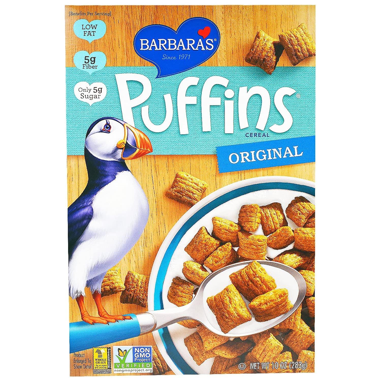coupon rabais Barbara's Puffins