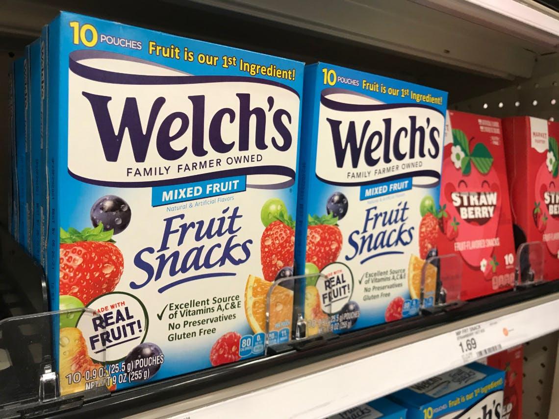 coupon rabais Welch's