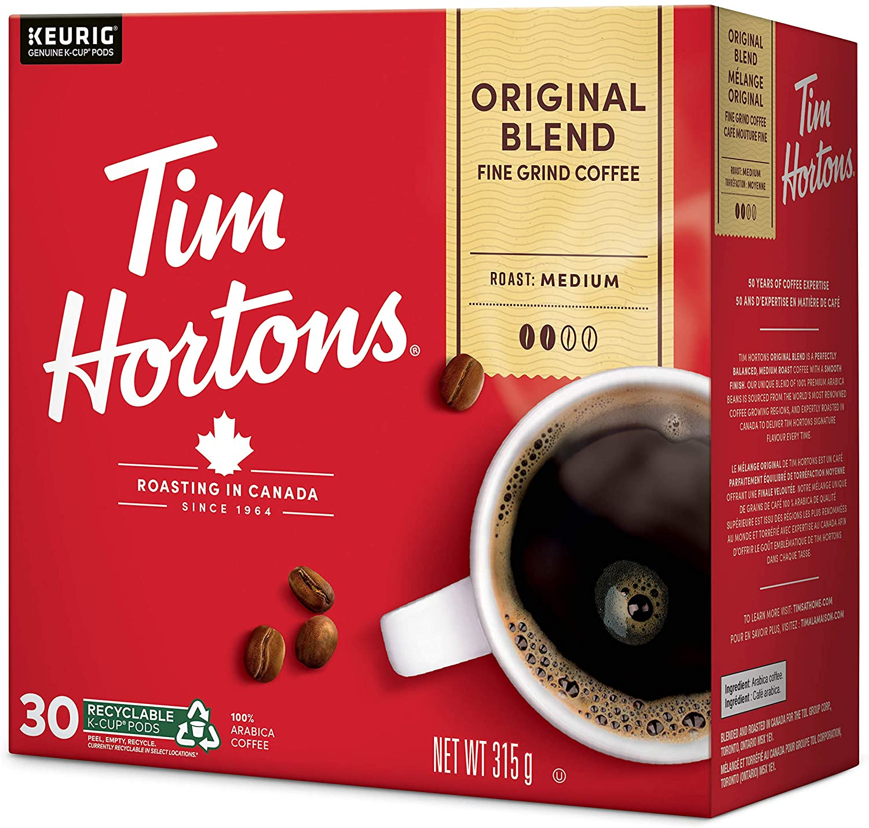 coupon rabais Tim Hortons Premium Instant Coffee