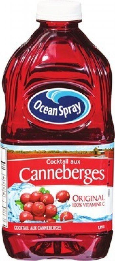 coupon rabais Ocean Spray