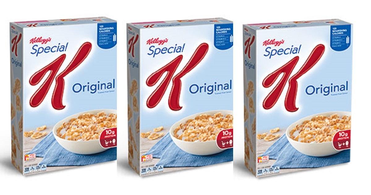 coupon rabais Kellogg's Special K
