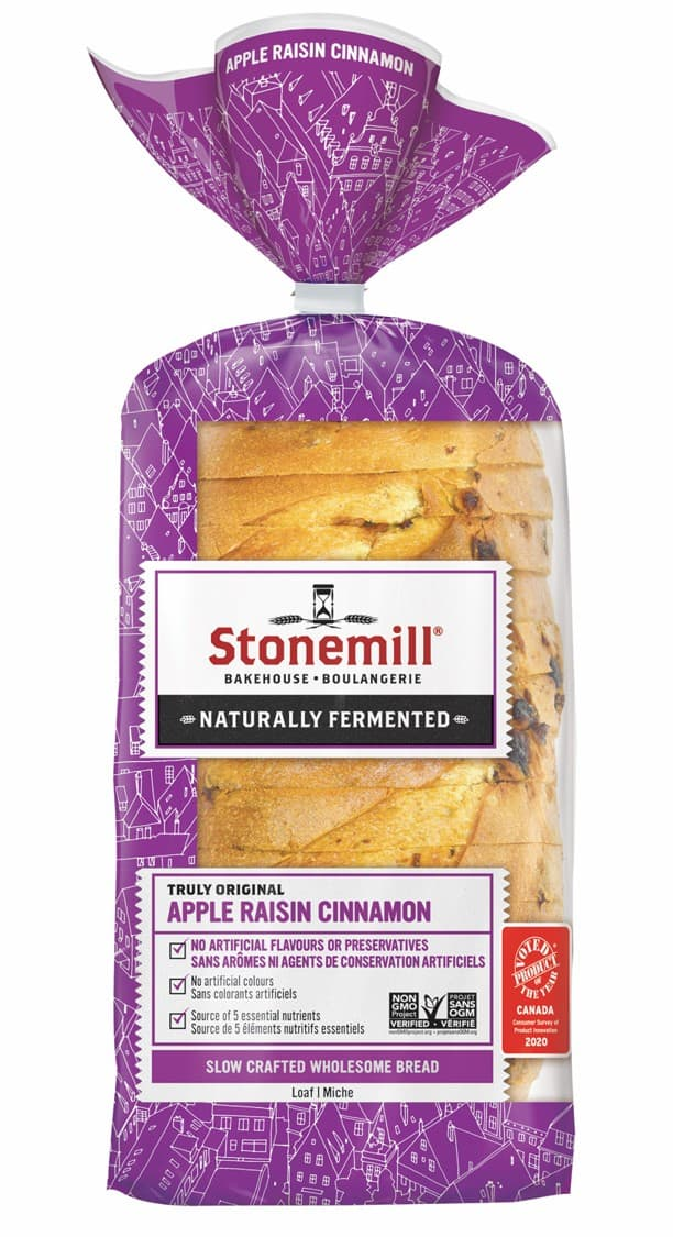 coupon rabais Stonemill Naturally Fermented Bread
