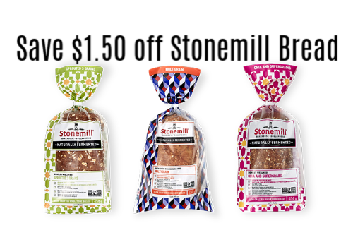 coupon rabais Stonemill Naturally Fermented
