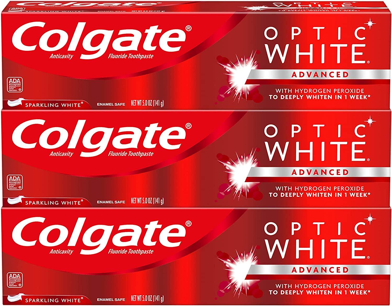 coupon rabais colgate Optic White