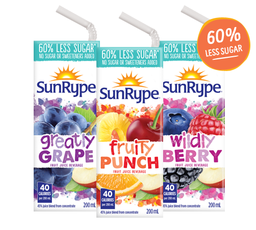 coupon rabais Sunrype