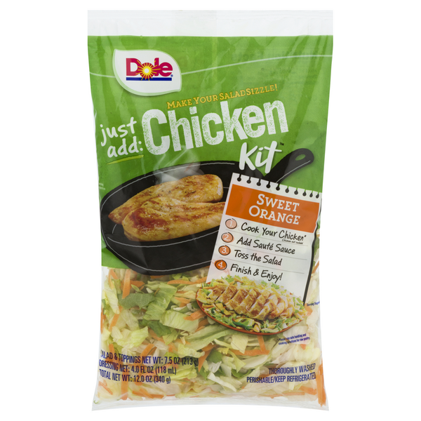 Coupon Rabais Dole Just Add Chicken Salad Kit