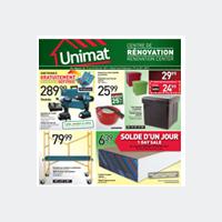 La Circulaire Unimat - Promotions, Rabais, Spéciaux & Deals De La Semaine
