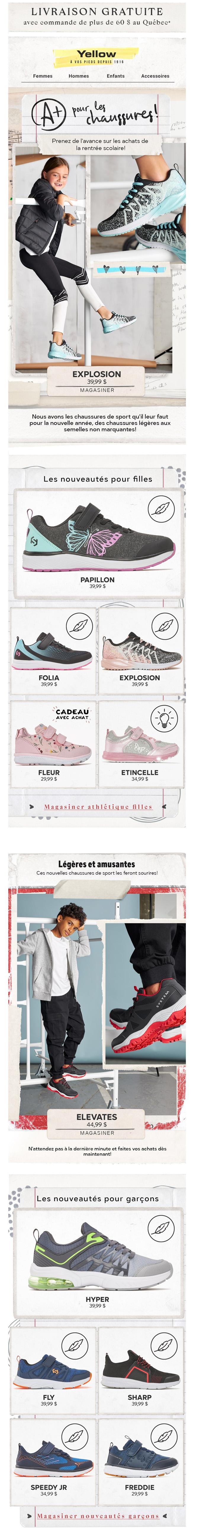 A+ Pour Les Chaussures!