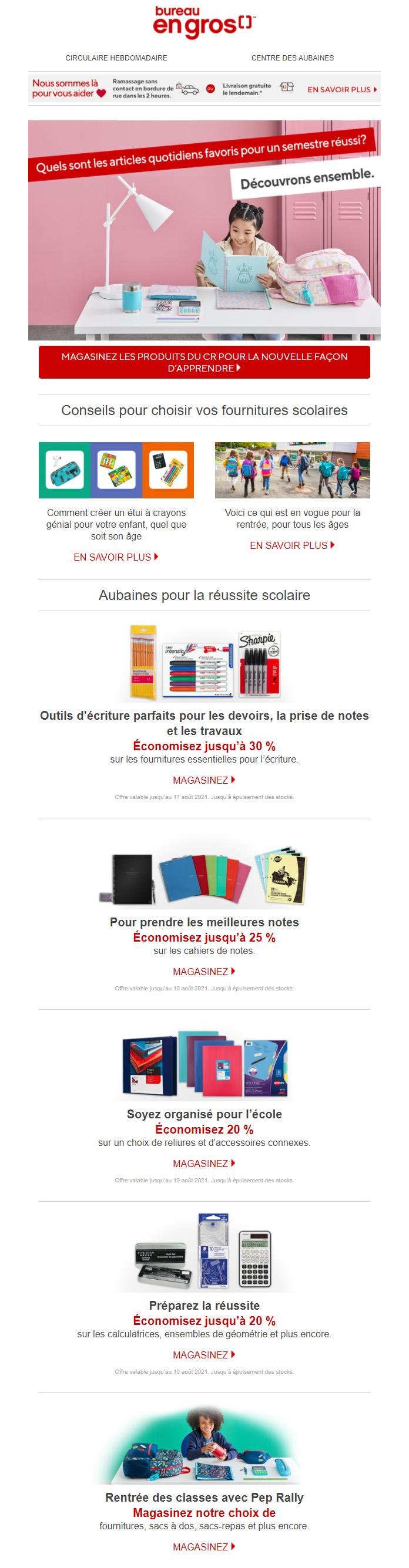 Articles Essentiels Préférés Et Plus Encore : Jusqu'à 25 % De Rabais Et Livraison Gratuite Le Lendemain