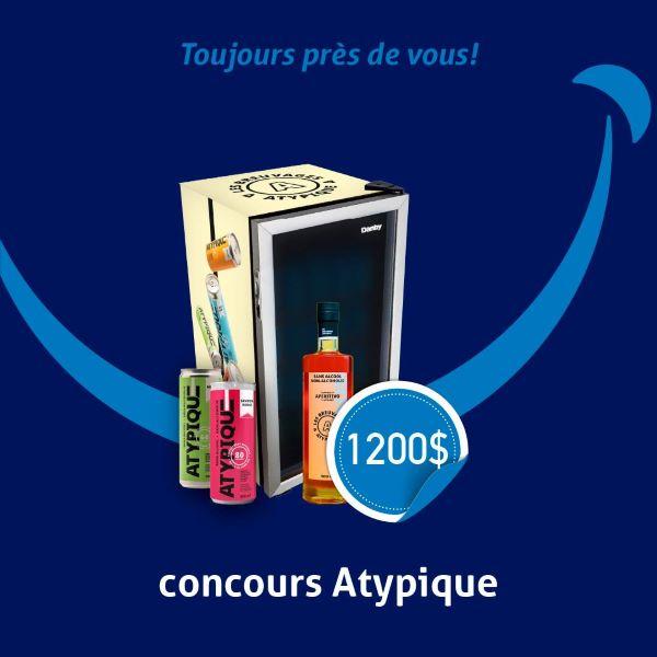 Concours Atypique Tient à Vous Gâter Cet été!