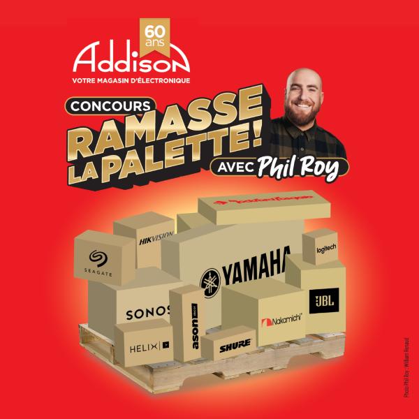 Concours Concours Ramasse La Palette !