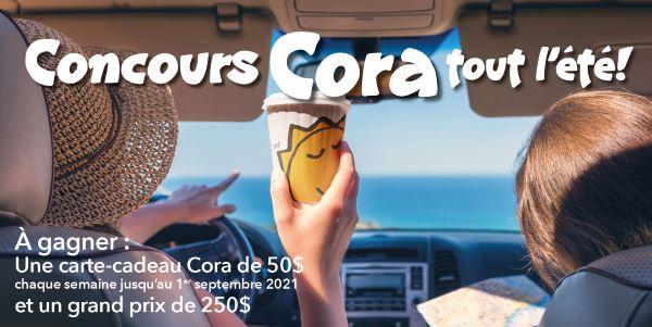 Concours Cora Tout L'été!