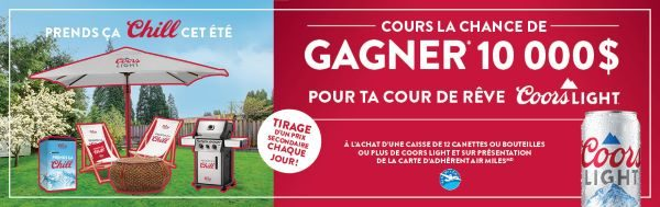 Concours Cour De Rêve Coors Light!