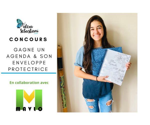 Concours Gagne Ton Agenda & Son Enveloppe Protectrice!