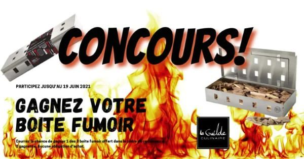 Concours Gagne Une Des 3 Boites Fumoirs Bbq Devil!