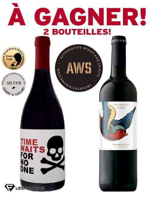 Concours Gagnez 2 Bonnes Bouteilles De Vin Rouge!