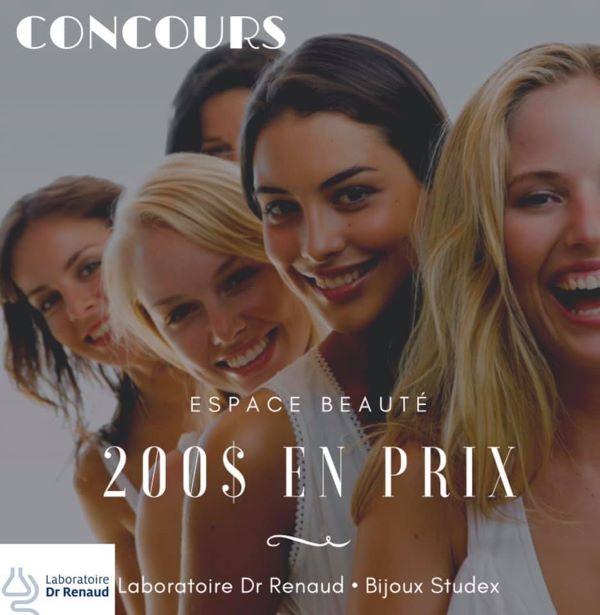 Concours Gagnez 200$ De Produits & Bijoux Offerts Par Espace Beauté!