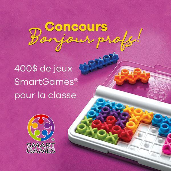 Concours Gagnez 400$ De Jeux Smartgames De Votre Choix!