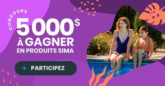 Concours Gagnez 5000$ à Dépenser Chez Votre Détaillant Sima!