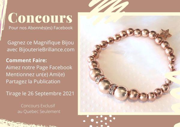 Concours Gagnez Ce Magnifique Bracelet En édition Limitée!