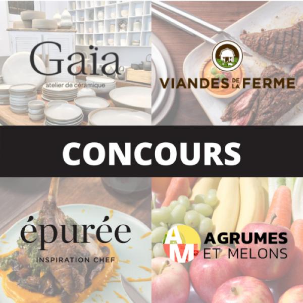 Concours Gagnez De Merveilleux Produits Du Québec Offerts Par épurée, Viandes De La Ferme, Agrumes & Melons Et Gaïa!