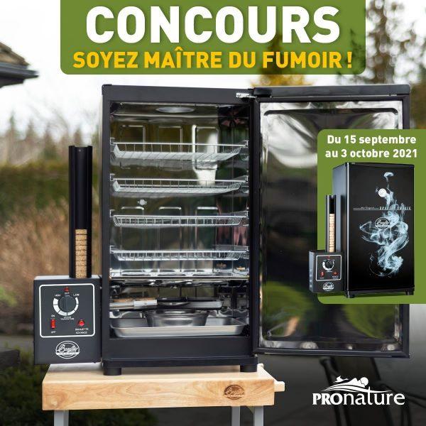 Concours Gagnez Fumoir De Marque Bradley Offert Par Pronature Plein Air, Chasse Et Pêche!