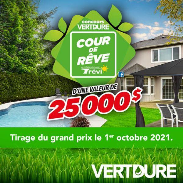 Concours Gagnez La Cour De Vos Rêves En Collaboration Avec Trévi D