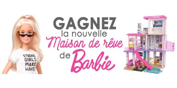 Concours Gagnez La Nouvelle Maison De Rêve De Barbie!