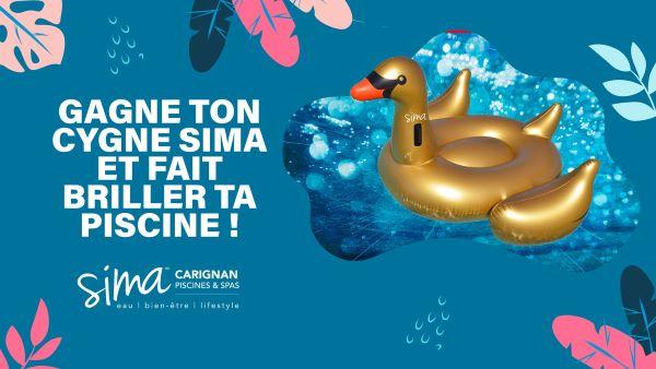 Concours Gagnez Ton Cygne Sima Et Fait Briller Ta Piscine!