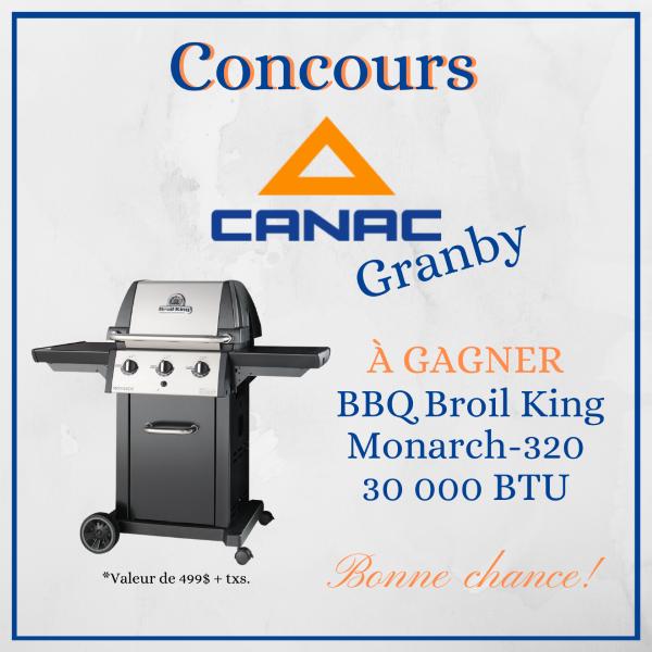 Concours Gagnez Un Bbq Broil King De 30 000 Btu!