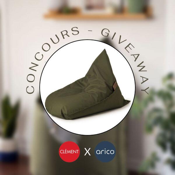 Concours Gagnez Un Bean Bag Arico Junior Couleur Olive!