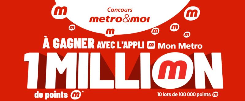 Concours Gagnez Un Des 10 Lots De 100 000 Points M D'une Valeur De 800$ Chacun!