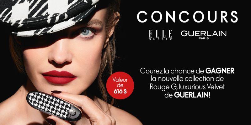 Concours Gagnez Un Ensemble De 6 Rouges à Lèvres Guerlain!