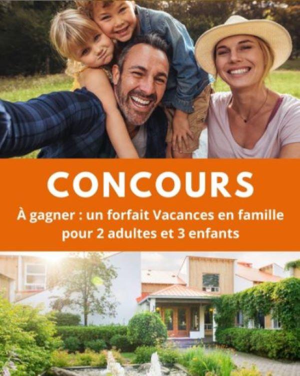 Concours Gagnez Un Forfaits Vacances En Famille à L'hôtel Chéribourg Dans Les Cantons De L'est!