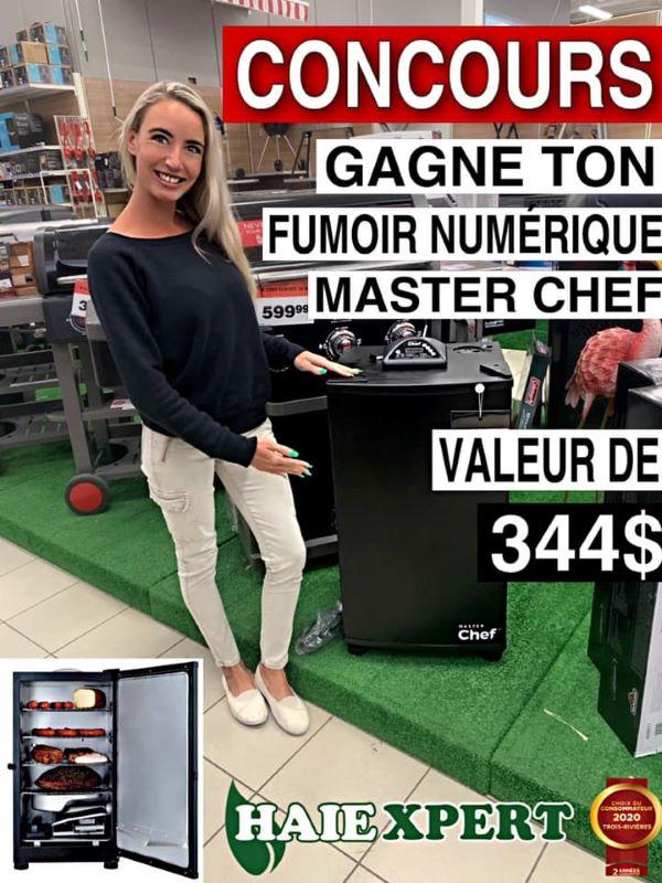 Concours Gagnez Un Fumoir Numérique Master Chef!
