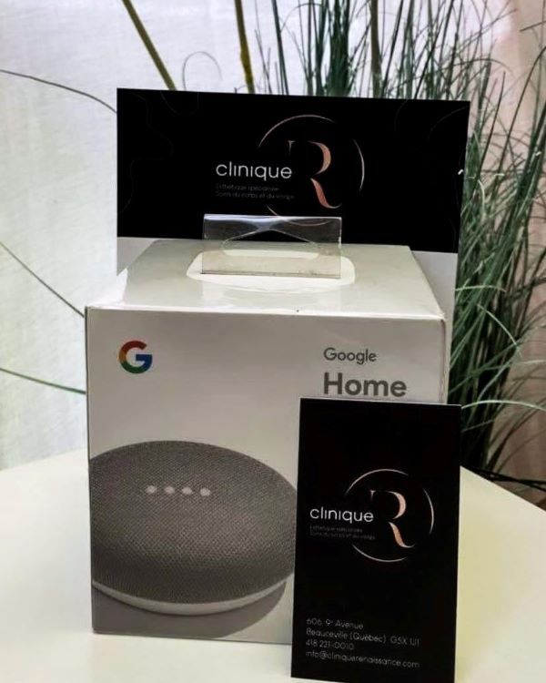 Concours Gagnez Un Google Home!