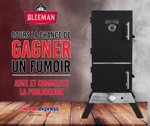 Concours Gagnez Un Magnifique Fumoir Vertical Grill Pro!