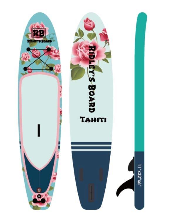 Concours Gagnez Un Magnifique Paddleboard Tahiti Offert Par Ridley