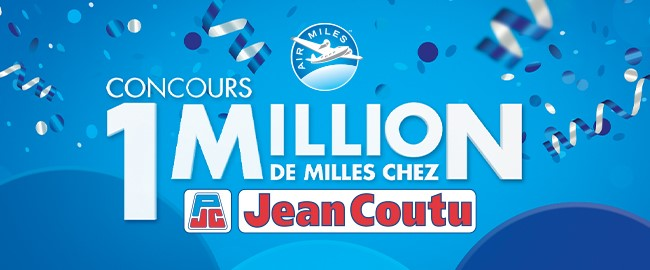 Concours Gagnez Un Million De Milles Chez Jean Coutu!