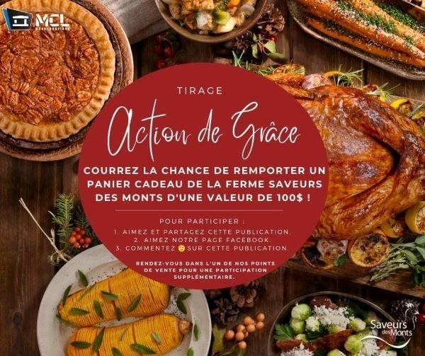Concours Gagnez Un Panier Cadeau De Ferme Aux Saveurs Des Monts D