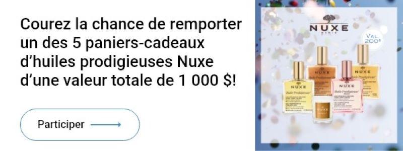 Concours Gagnez Un Panier Cadeau Huile Prodigieuse D'une Valeur De 200$!