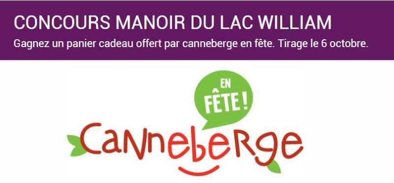 Concours Gagnez Un Panier Cadeau Offert Par Canneberge En Fête!