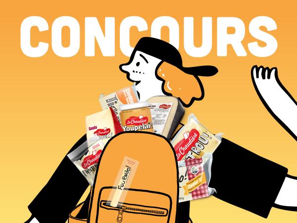 Concours Gagnez Un Panier De Fromages De La Chaudière!