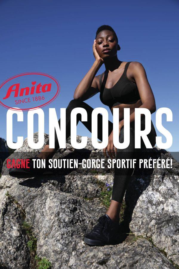 Concours Gagnez Un Soutien Gorge De Sport Anita!