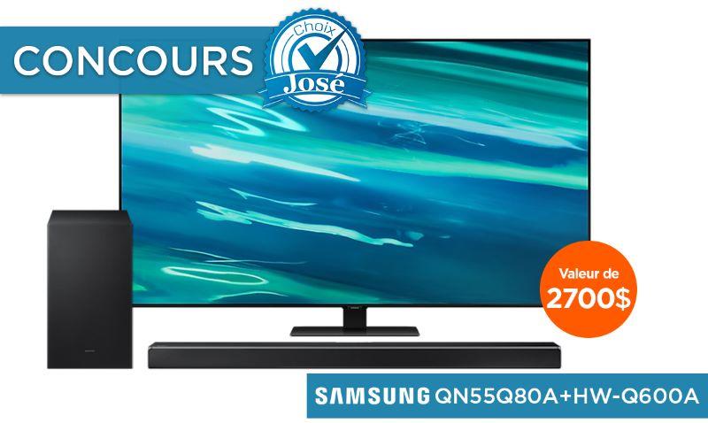 Concours Gagnez Un Téléviseur & Une Barre De Son Samsung D